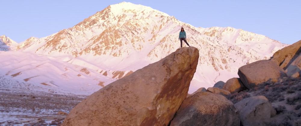 female athlete climber Shelma Jun Within Reach
