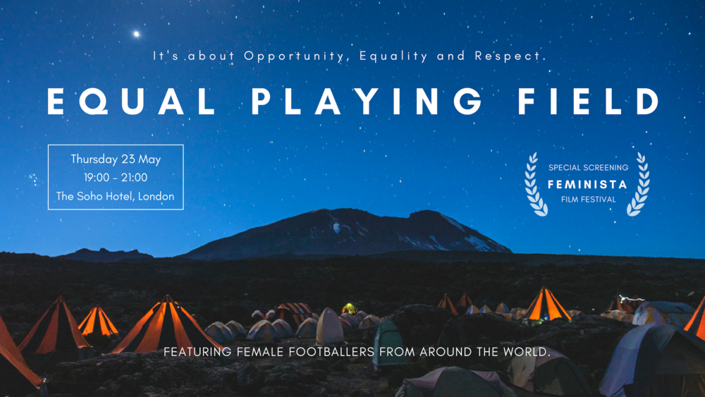 Equal Playing Field - Feminista Film Festival Special Screening 23 May 2019