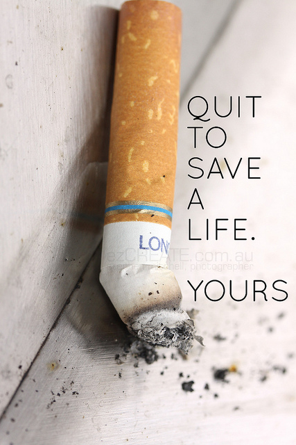 Stop Smoking! Tips and Nutritional Help for Quitting from HFFG
