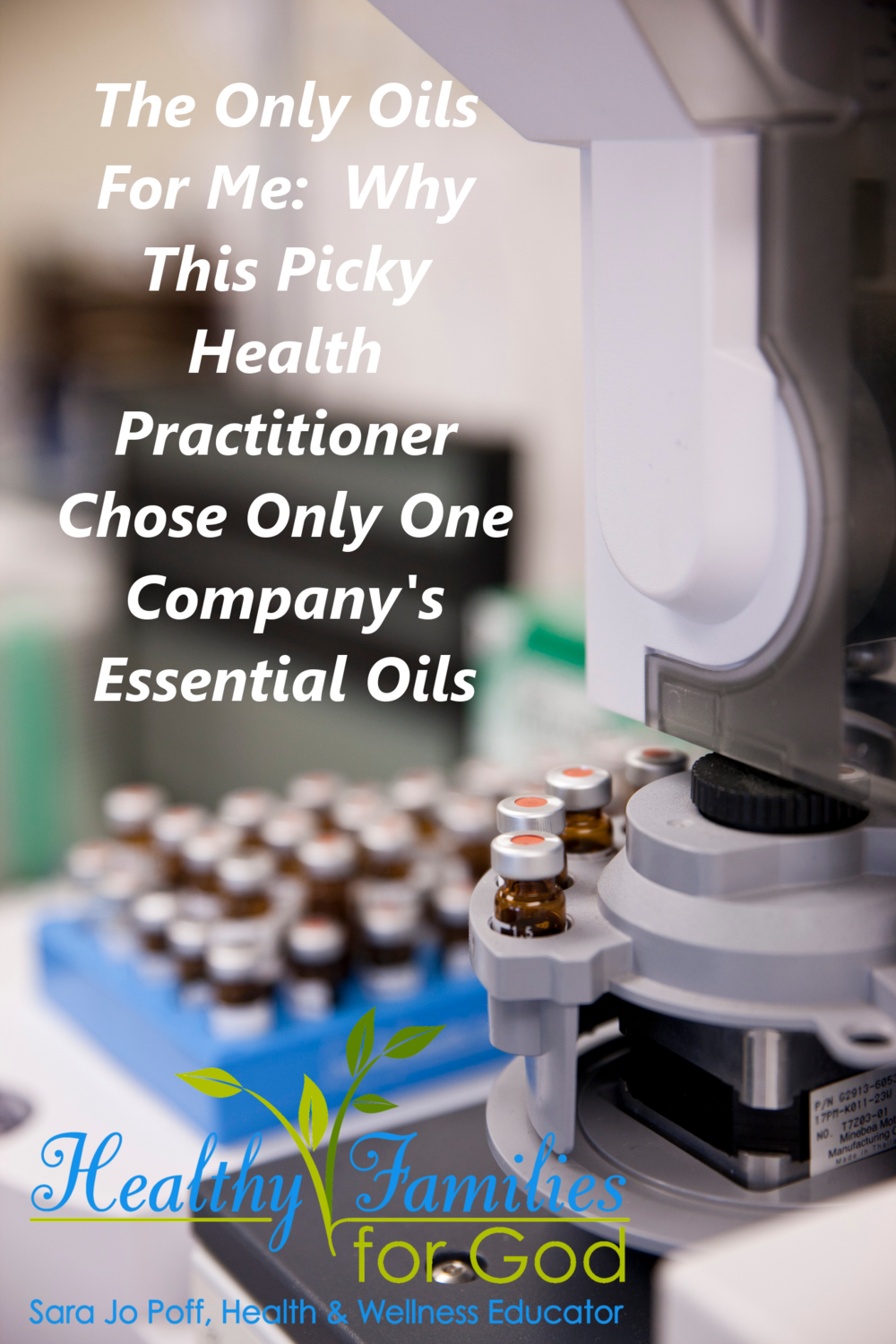The Only Oils for Me: Why This Picky Health Practitioner Chose Only One Company's Essential Oils--HFFG
