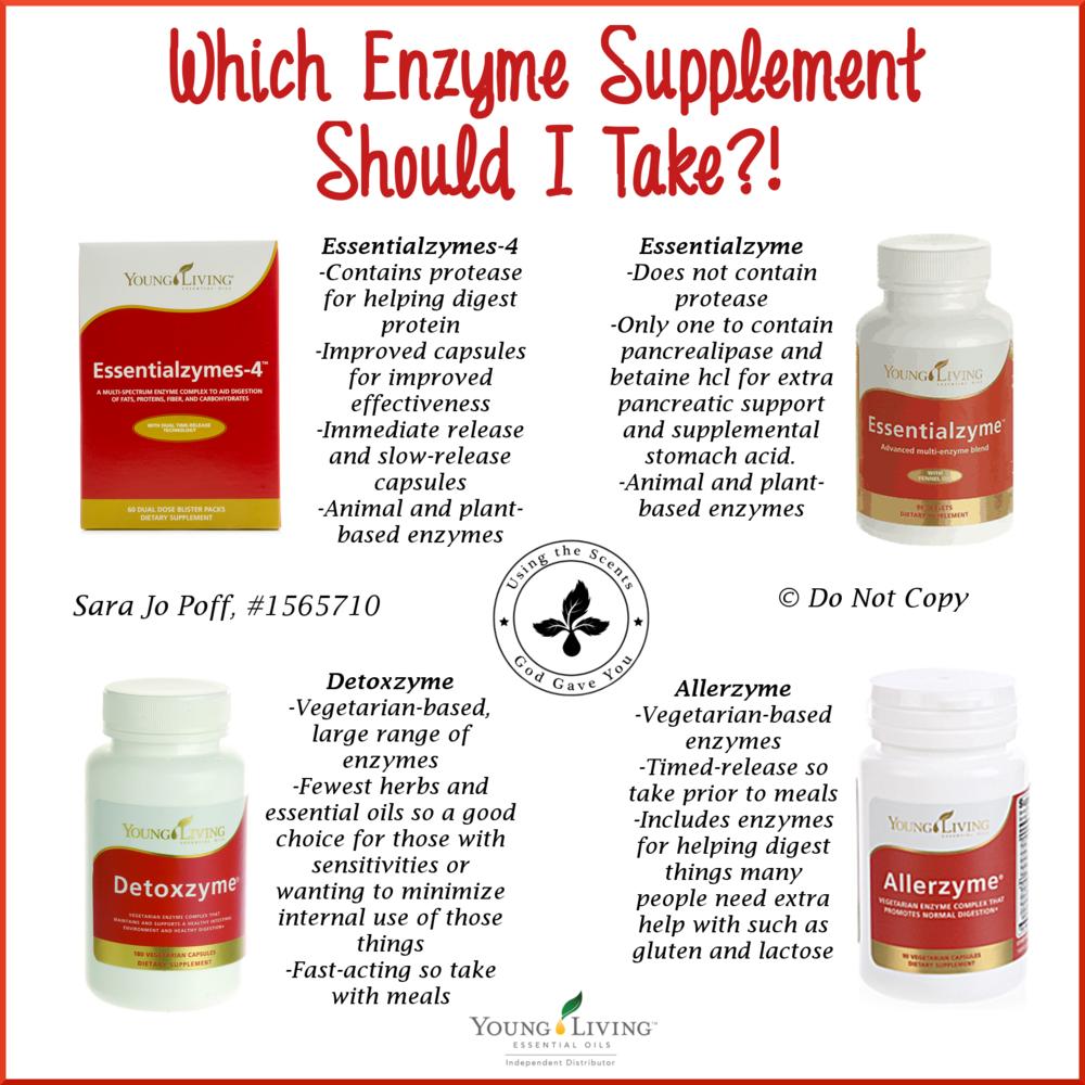 enzymes-comparison