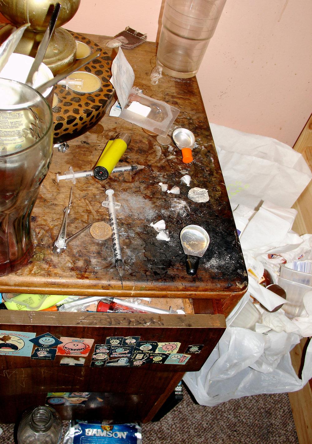 - Bedside table 2011.