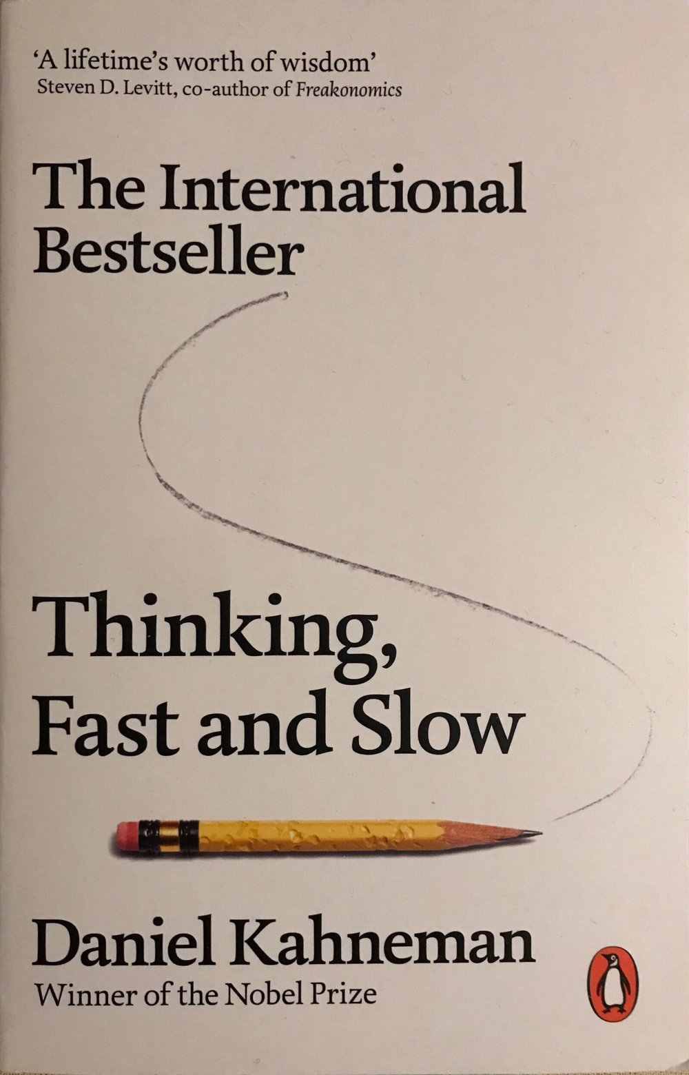 Thinking Fast and Slow  by  Ged Carroll , used under  CC BY 2.0