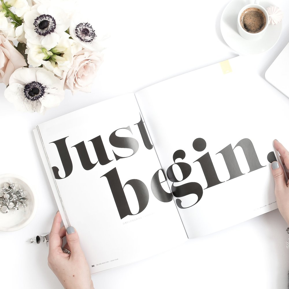 IT STARTS WITH YOU - JUST BEGIN