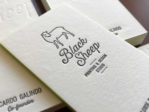 Printing black sheep studio these two more traditional methods offer a more tactile and unique finish to your printed pieces these processes are used for invitations business cards colourmoves