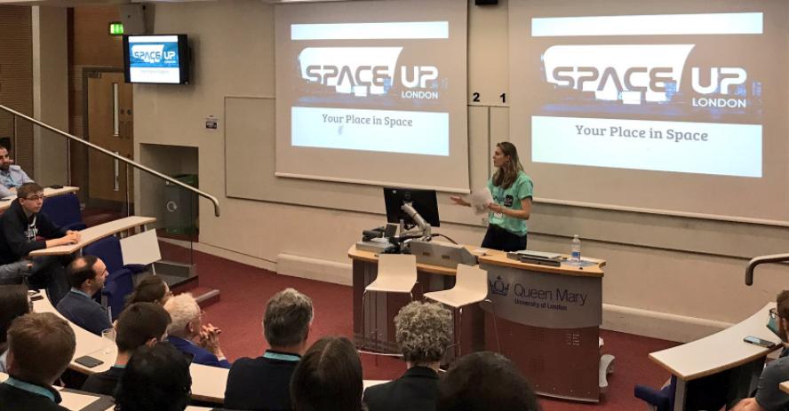 Hosting SpaceUp London 2017