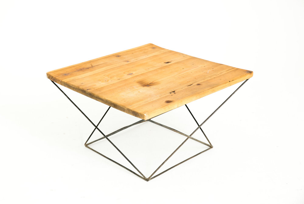 Geometric Table Steel
