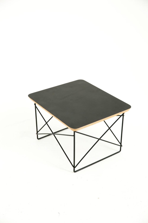 Geo Side Table Black