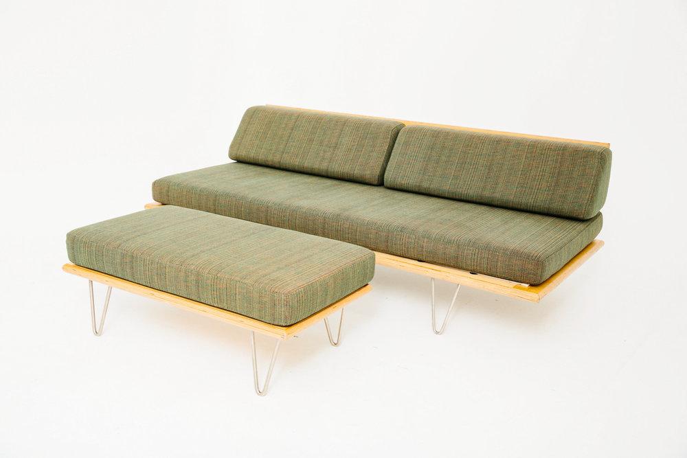 Modernica Green w/ Ottoman
