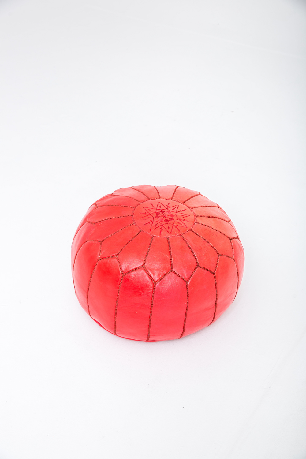 Red  Pouf