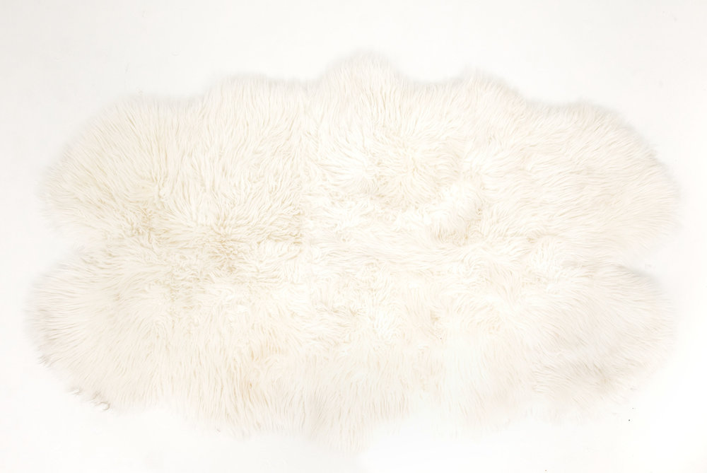 Large Sheepskin Throw