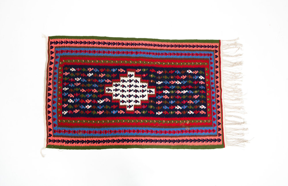 Swedish Fish Small Rug
