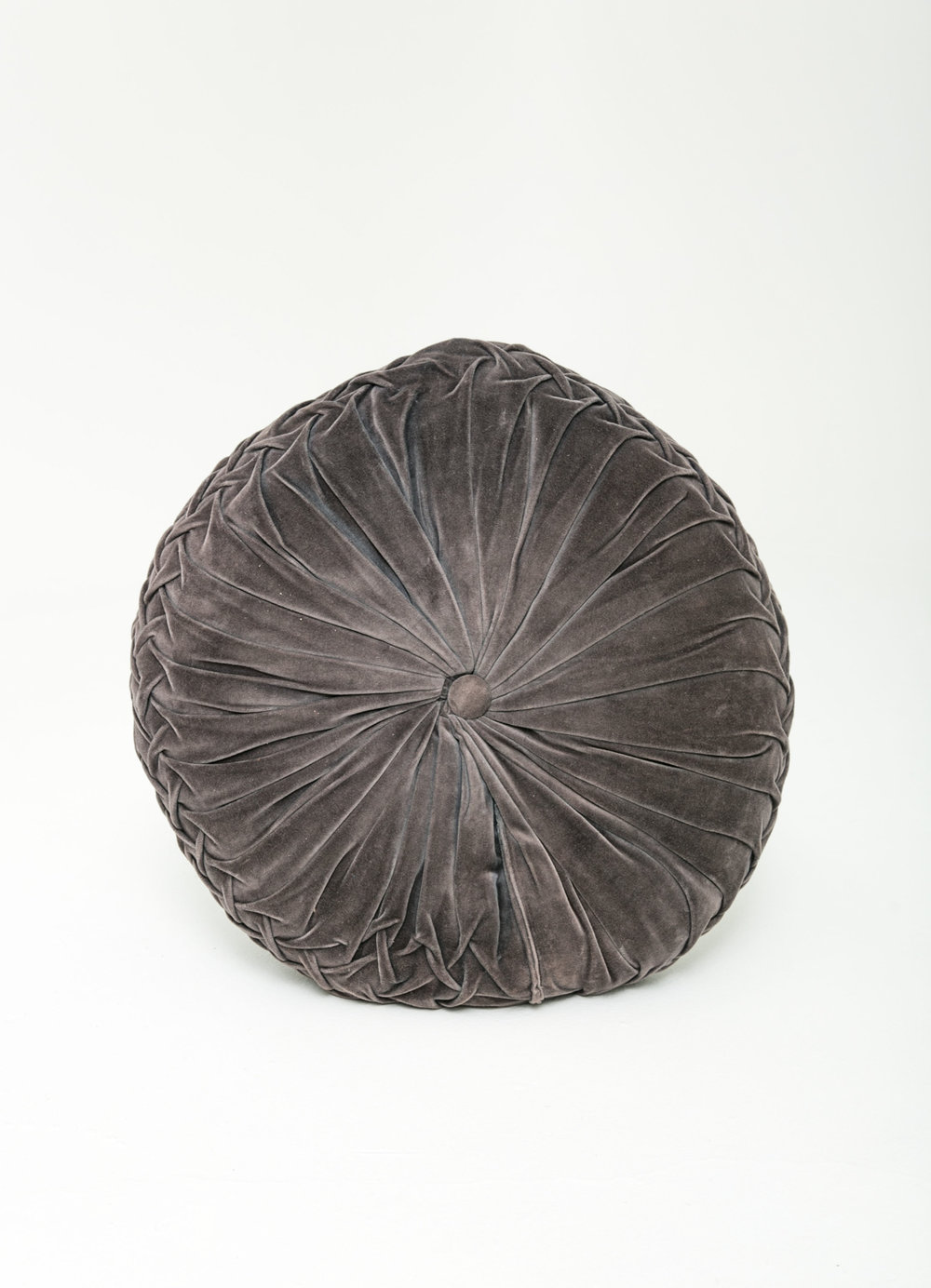 Large Gray Floor Pillow