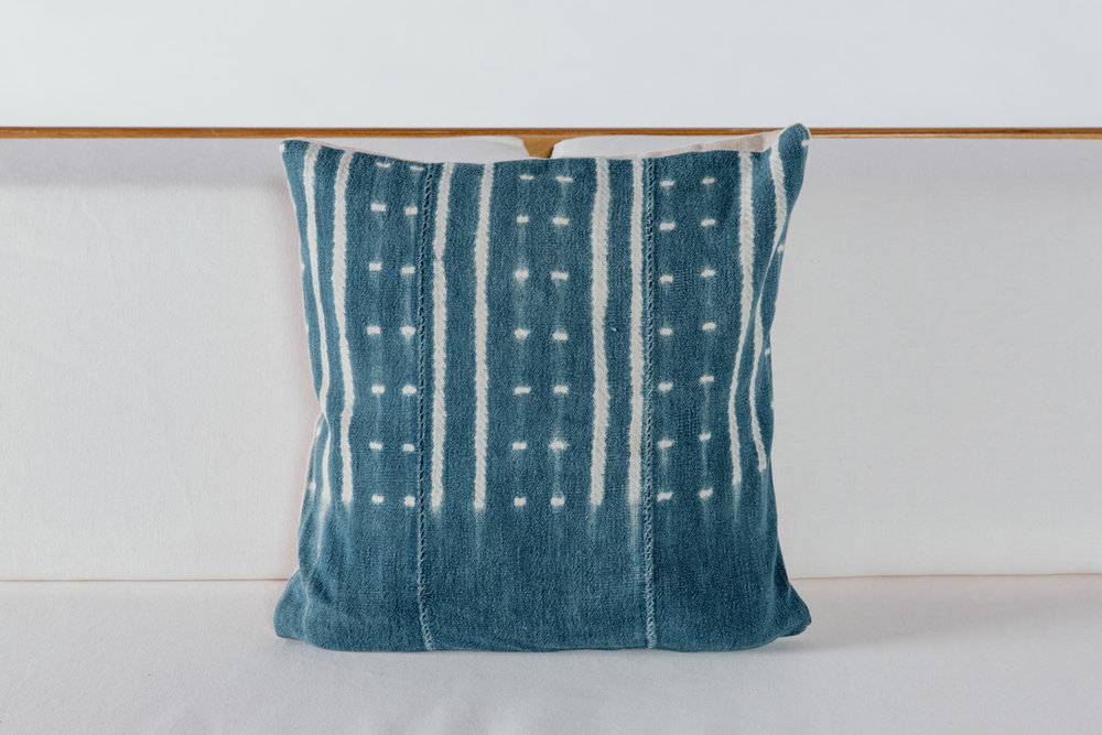 Pintuck Shibori Pillow