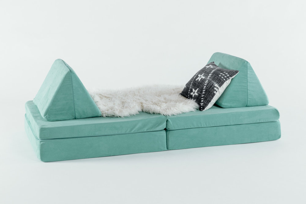 Sea Green Play Sofa