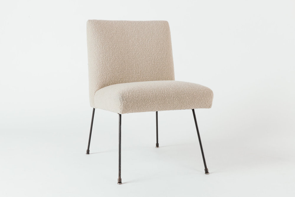 Milo Baughman Lounge Chair Taupe