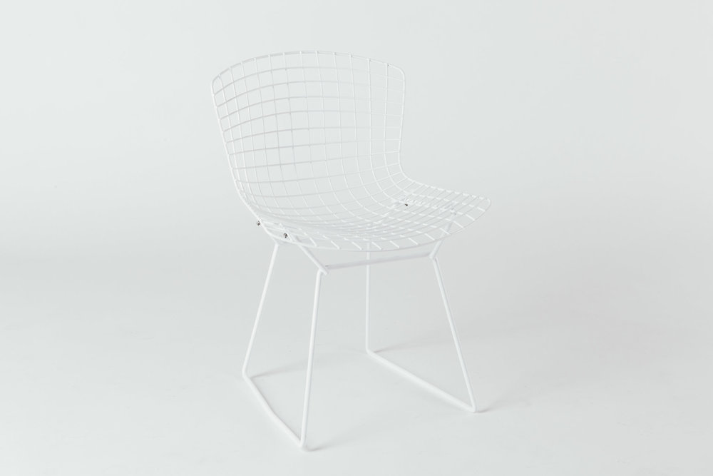 Knoll Bertoia White on White