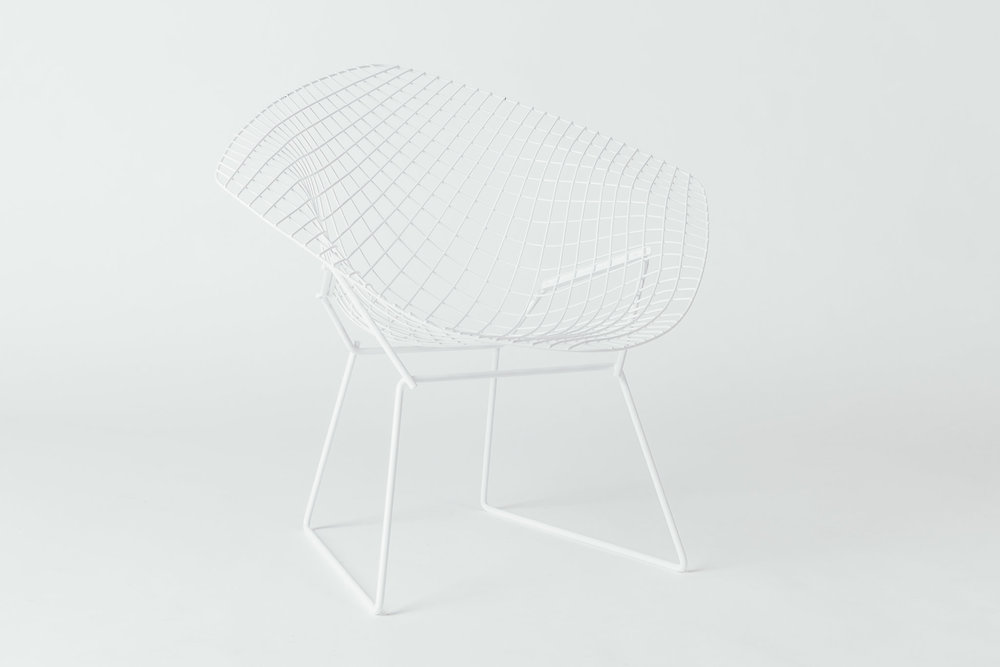 Knoll Bertoia Diamond White
