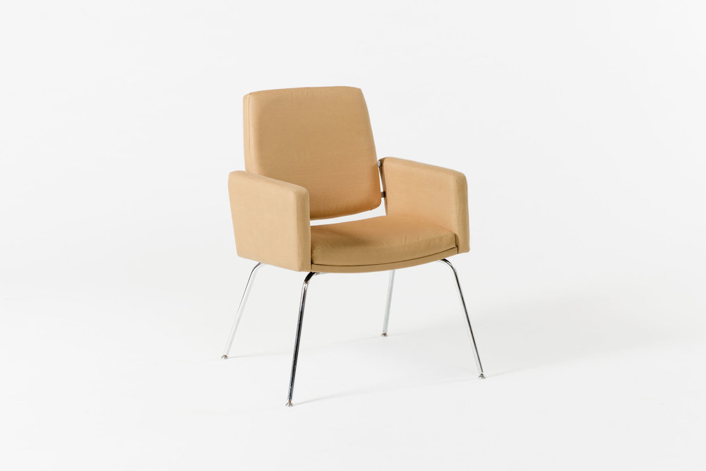 Tan Side Chair