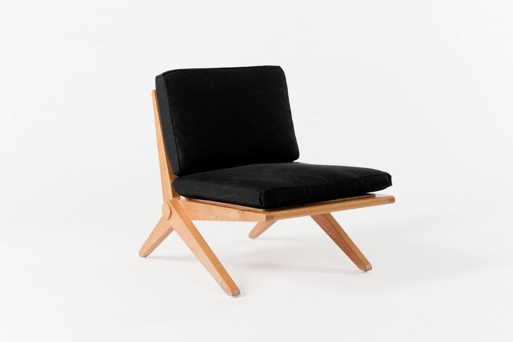 Scissor Chair Black