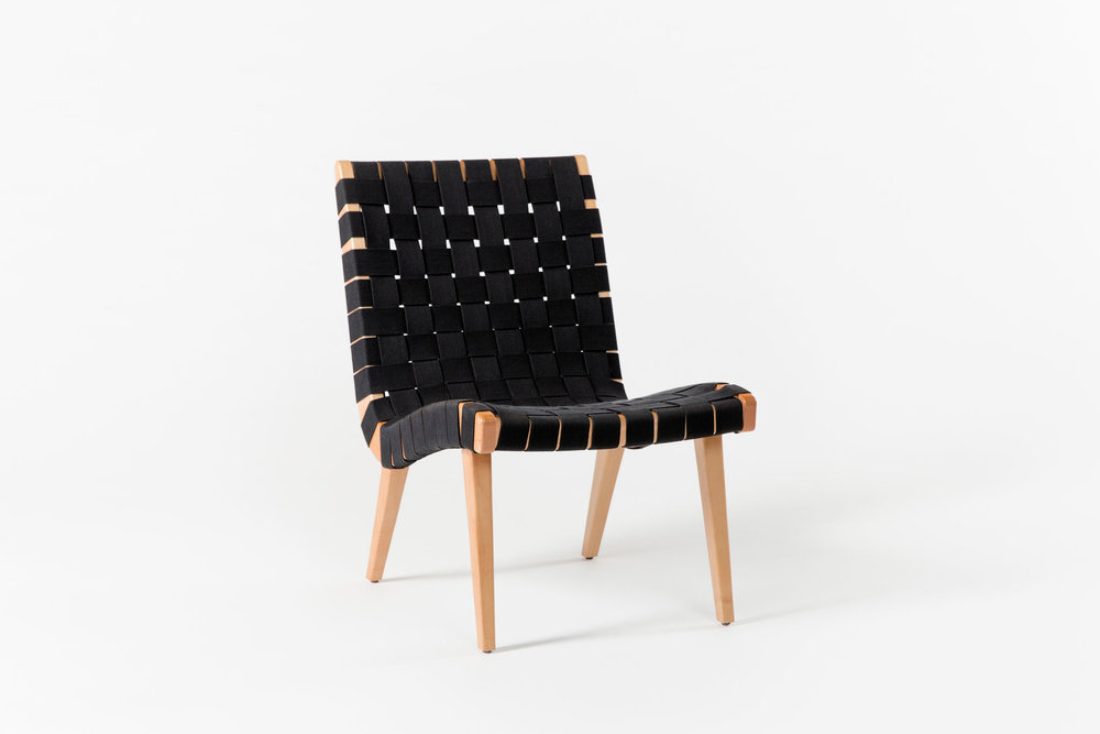 Risom Chair Black