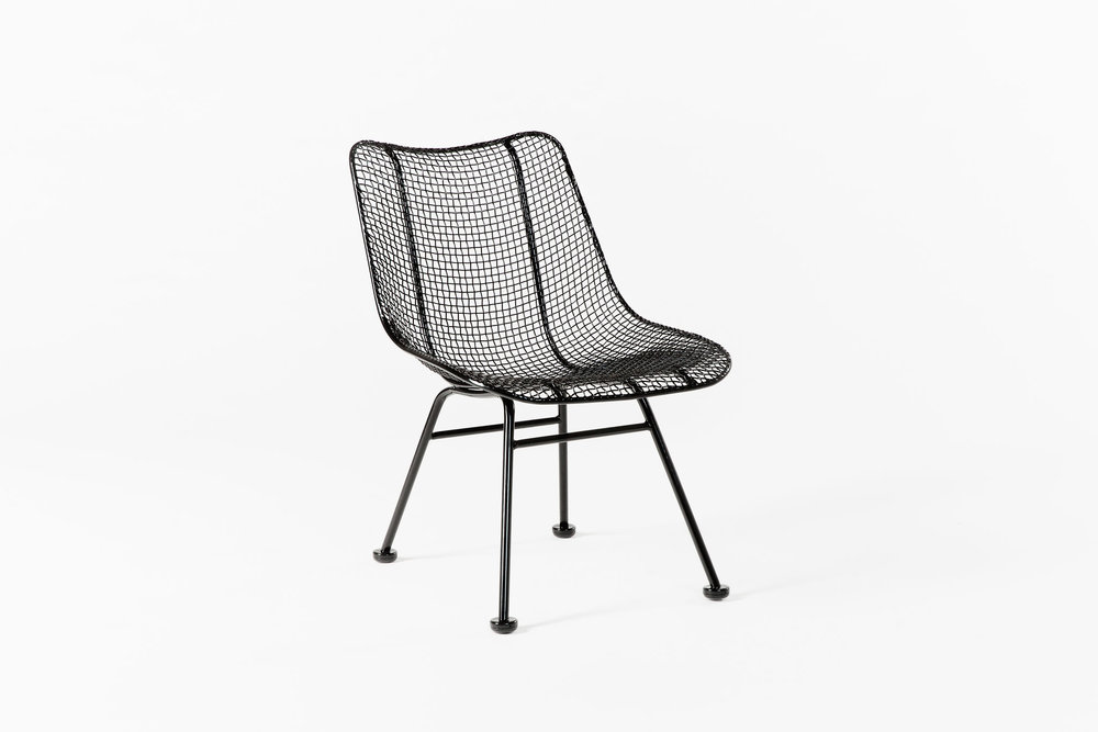 Woodard Chair Black