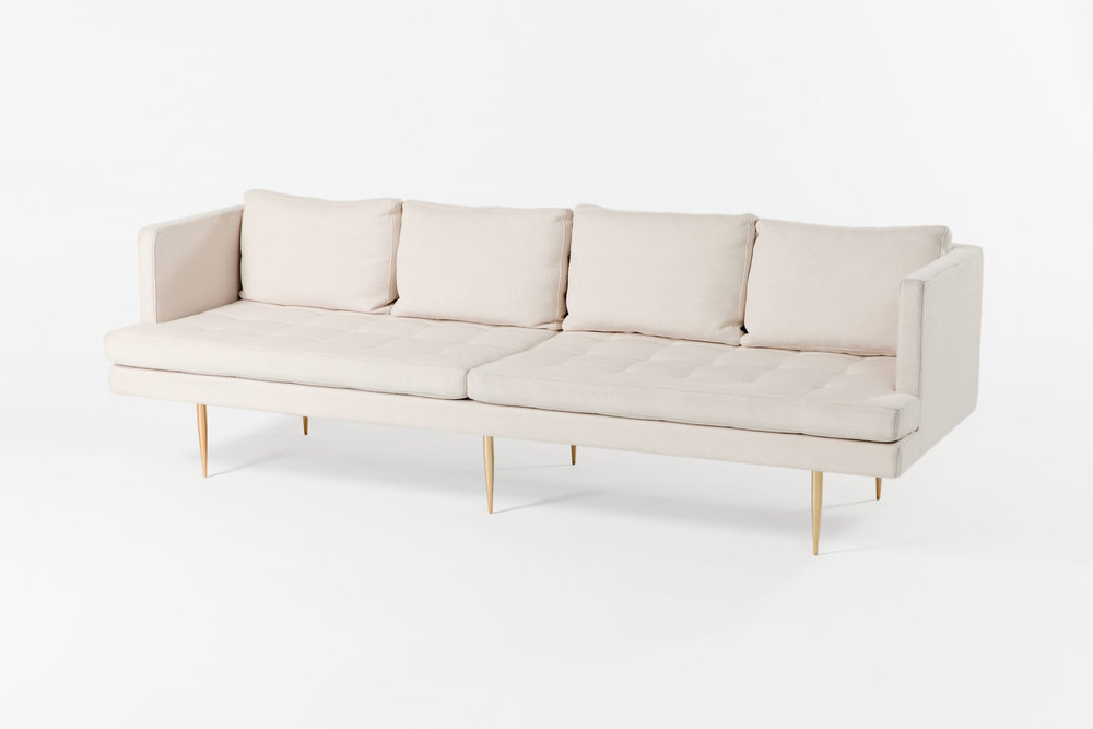 Organic Modernism Cream Four-Seater