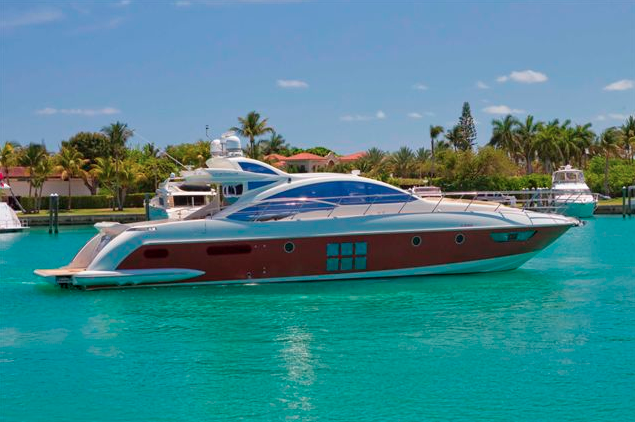 62' Azimut S - 20074 hrs $3,5006 hrs $4,800Week $28,800 + Expenses
