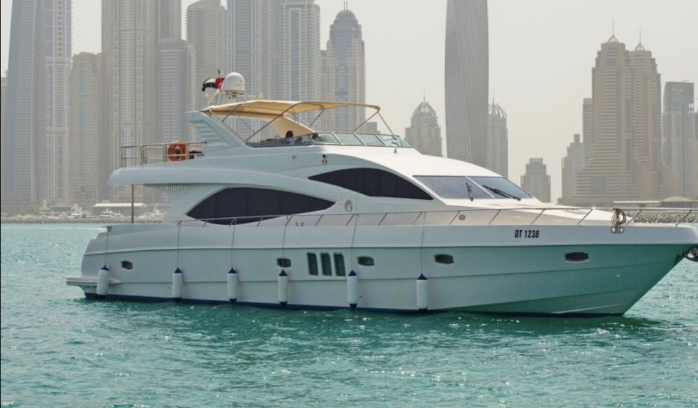 77' Majesty - 20134 hr $3,0008 hr $5,000Week $30,000 + Expenses