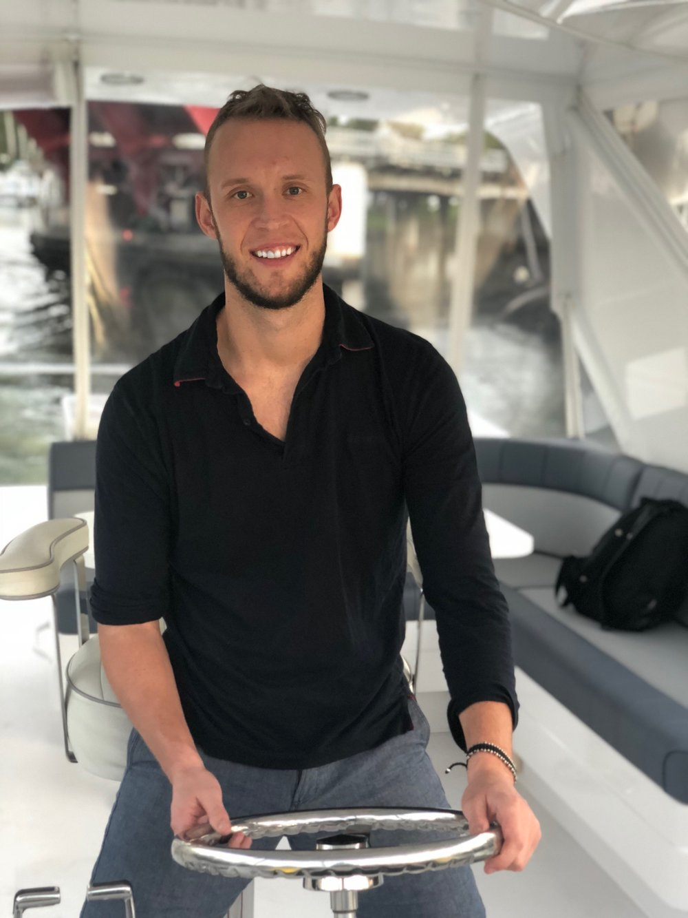 ANTHONY BARTON - Favorite Yacht: 55' Van Dutch