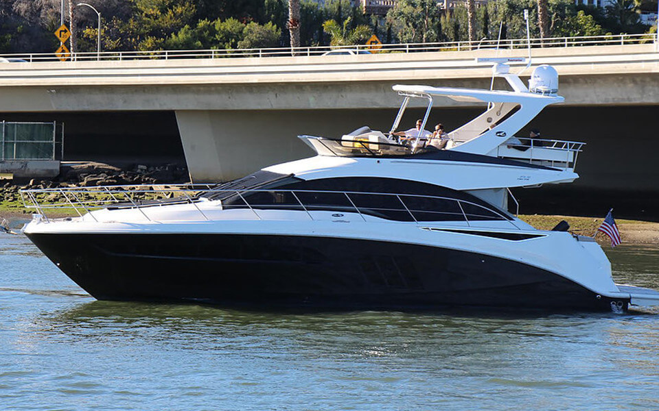 51' Sea Ray - 2016 4 hrs $2,800 + Expenses8 hrs $5,600 + Expenses Week $33,600 + ExpensesMaximum Passengers: 12Location: Newport Beach
