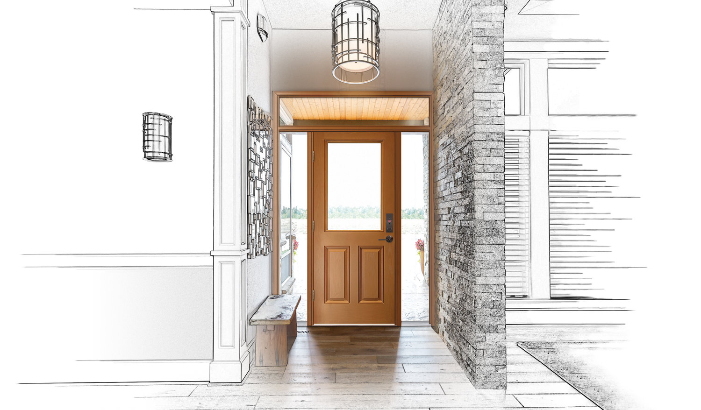 Jambs & Accessories — Designer Arch Fiberglass Doors