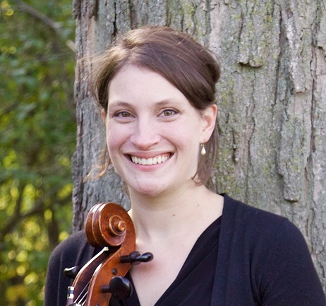 Michielle Kulwicki, professional cellist and manager of White Pines Entertainment