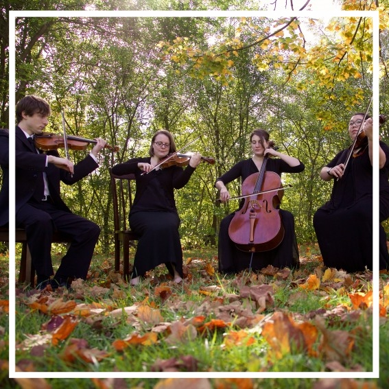 Ann Arbor based string quartet, by White Pines entertainment is available for wedding ceremonies and special events.
