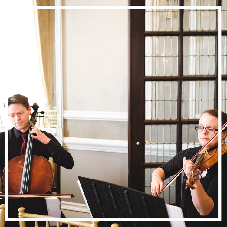 Our Ann Arbor-based string duet is available for your special events in South East Michigan and Ohio.