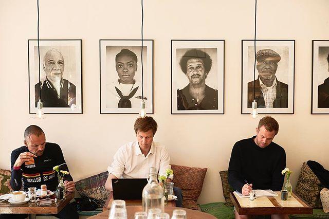 Portraits by our barista and photographer Marcus Trappaud Bjørn! ☕️📸👨🏽🎨💂🏽👨🏿🎓👩🏼🍳 #originalcoffee #original #coffee #oc #marcusbjørn #portraits #hellerup
