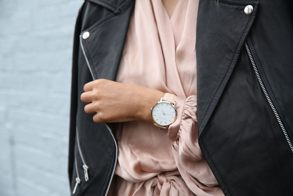"""""""Oh this watch and leather jacket? Bought it with my lifestyle creep."""" -Photo via Pexels."""