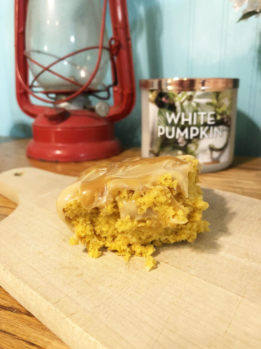 Pumpkin Peanut Butter Poke Cake with Twix.jpg