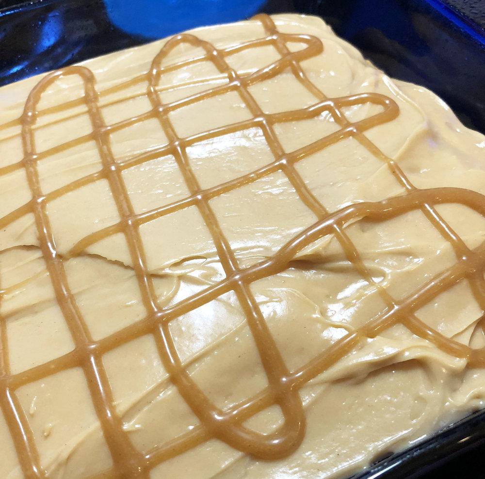 Pumpkin Peanut Butter Poke Cake with Twix6.jpg