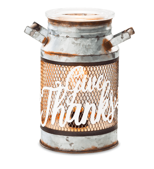 """""""Give Thanks"""" Warmer - 35$.  Click here to purchase!"""