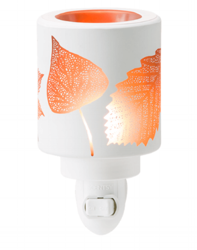 Amber Leaves Mini Warmer - $20. Click here to purchase!
