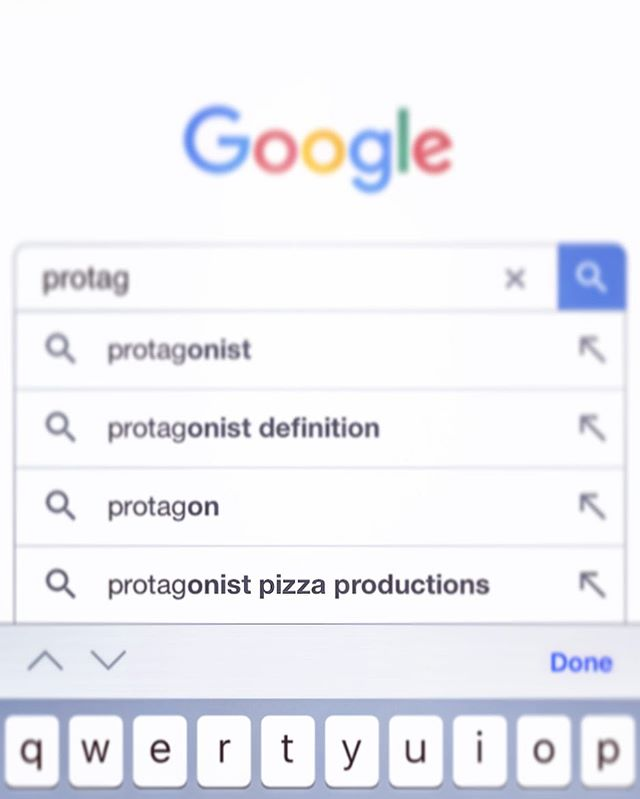 Moving on up ☝🏼one day when you type protagonist into google, we will be first. #goals