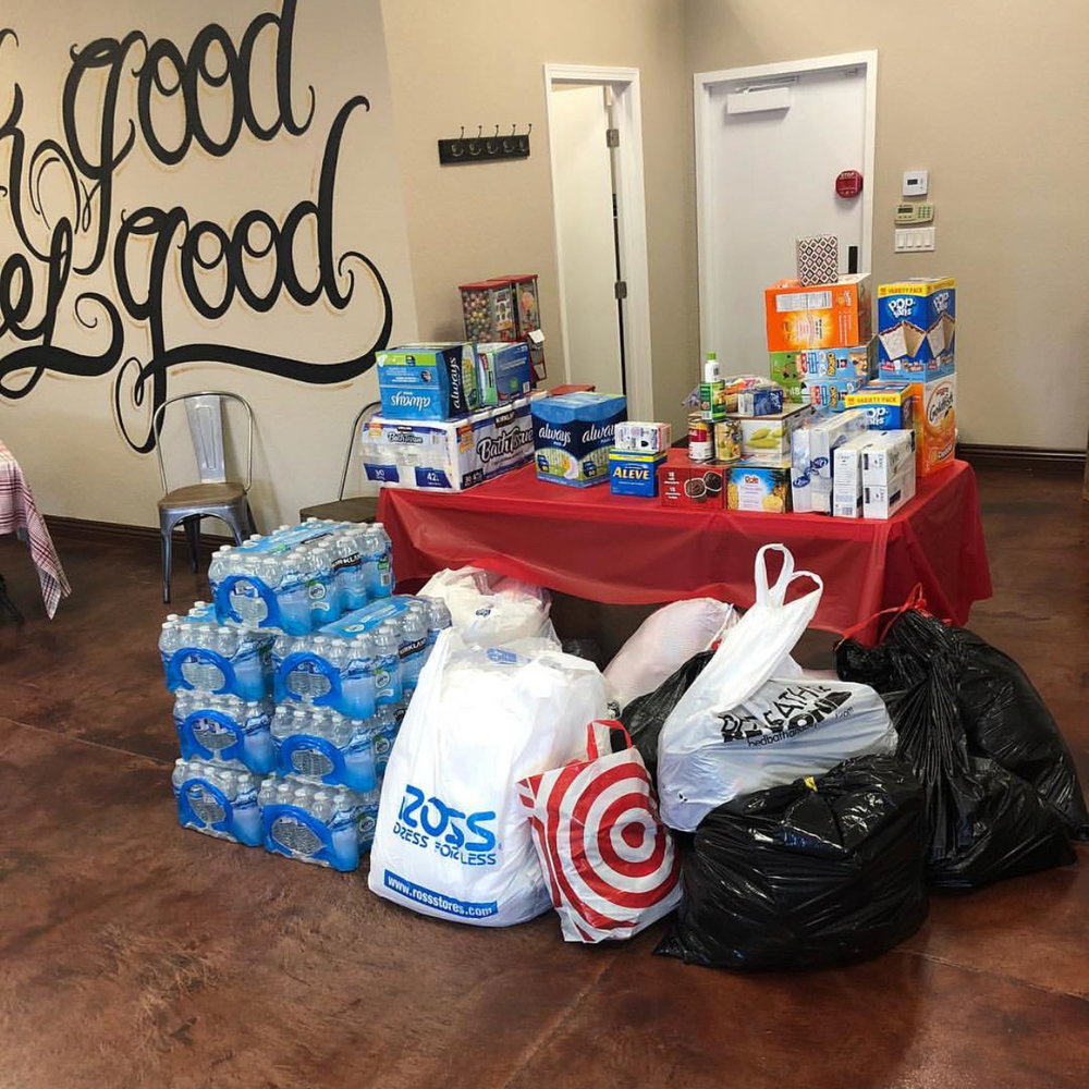 Thomas Fire Drive - The Craft Studios held a donation drive for the Ventura County Thomas Fire victims.