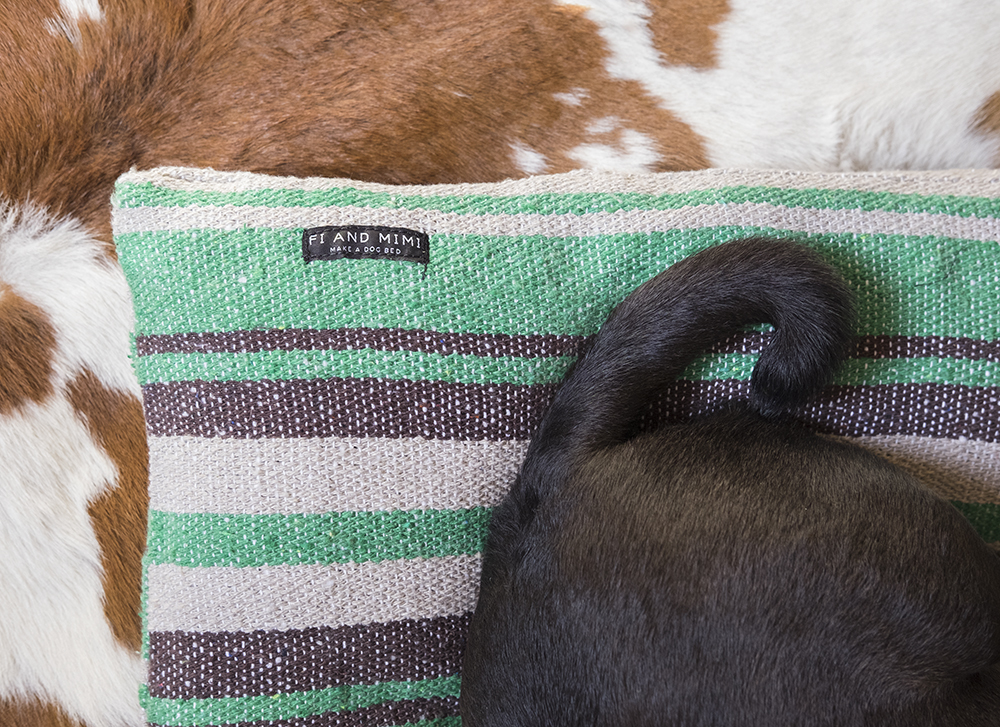 Care instructions - For your Mexican blanket dog bed
