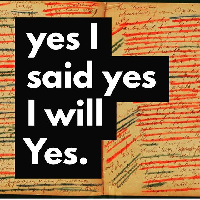Yes. Our Ep 006: Getting Used to #Ulysses available now! #jamesjoyce