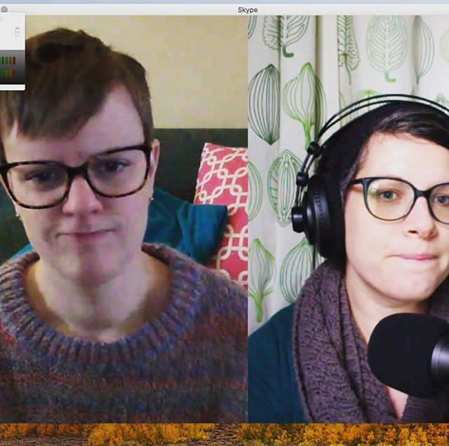 Your loyal #podcasters contemplating the joys and woes of #Ulysses. Check out episode 006 even if you haven't #reread! Link in bio!  #jamesjoyce #books #literature #podcast