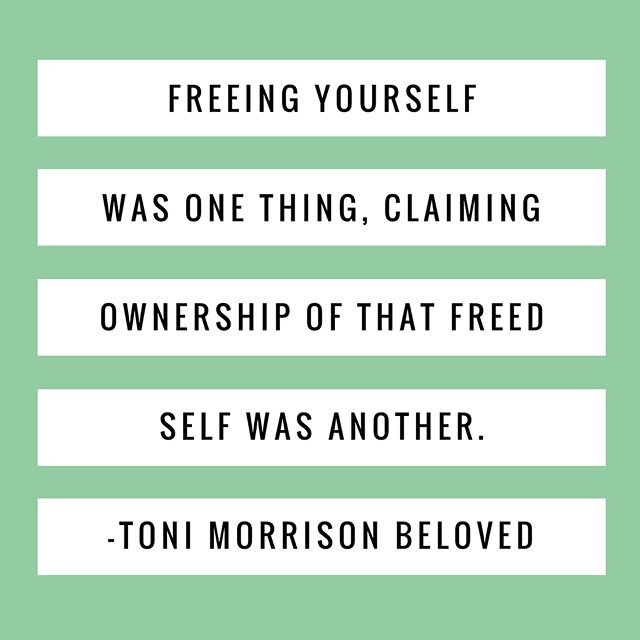 Read or #REREAD Beloved by Toni Morrison with Alix + Jess. Episode 007 is ready whenever you are wherever you get your #podcasts. Link in bio. #podcast #rereadpod #books #bookstagram #beloved #tonimorrison
