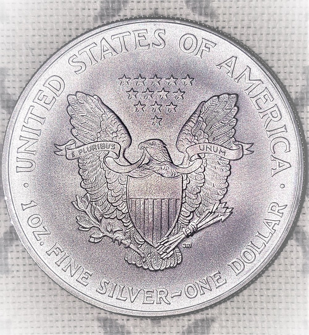SILVER DOLLAR - STORED ENERGY100% Metal