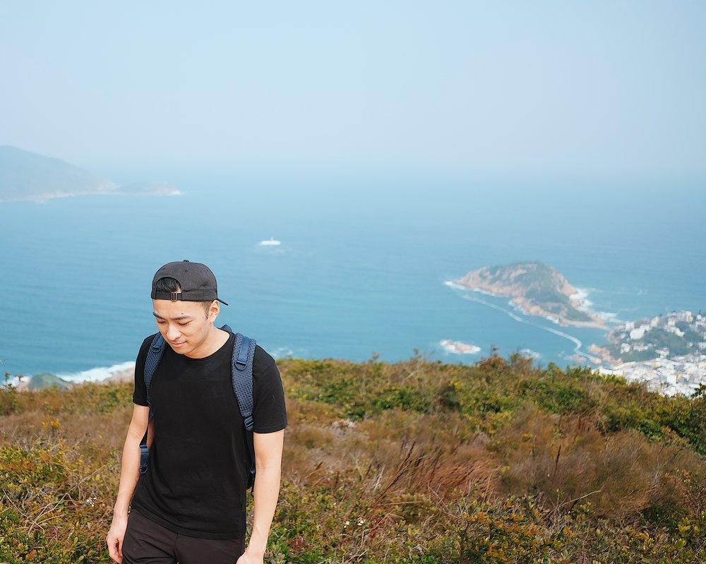 Hiking on Dragon's Back