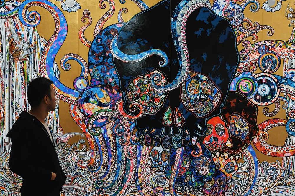 Takashi Murakami's The Octopus Eats its Own Leg Exhibition at the Vancouver Art Gallery